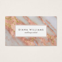 Makeup artist business cards zazzle reheart Choice Image