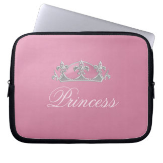 Sparkling Pink Princess Crown Electronics Case