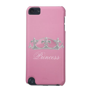 Sparkling Pink Princess Crown iPod Touch Case