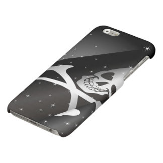 Sparkling Pirate Flag Matte iPhone 6 Case
