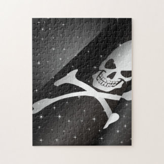 Sparkling Pirate Flag Puzzle