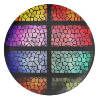 sparkling plate