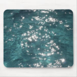 Sparkling Pool Water Background Mouse Pad