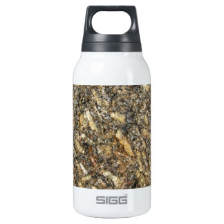 Sparkling Quartz Mineral Texture Insulated Water Bottle