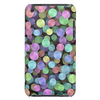 Sparkling Rainbow Polka Dots iPod Touch Case