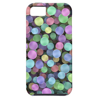 Sparkling Rainbow Polka Dots iPhone SE/5/5s Case