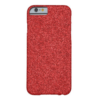 Sparkling Red Glitter iPhone 6 Case