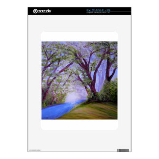 Sparkling River Decal For iPad