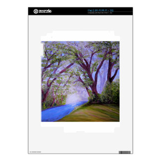 Sparkling River Skin For iPad 2