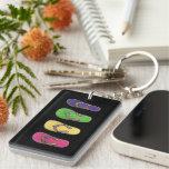 Sparkling Sandals Keychain Acrylic Keychain