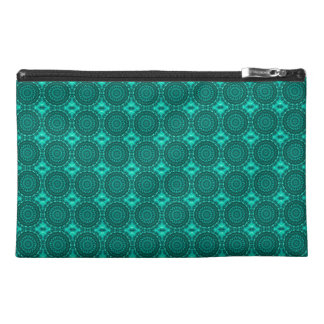 Sparkling soul music Pattern (emerald-spring-pine) Travel Accessory Bag