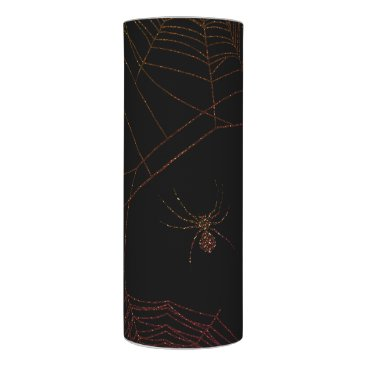 Halloween Themed Sparkling Spiderweb Flameless Candle