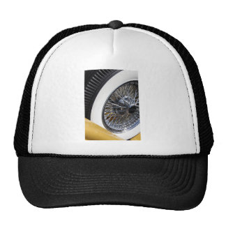 sparkling spokes trucker hat