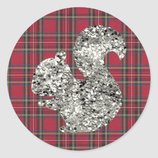 Sparkling Squirrel Sticker
