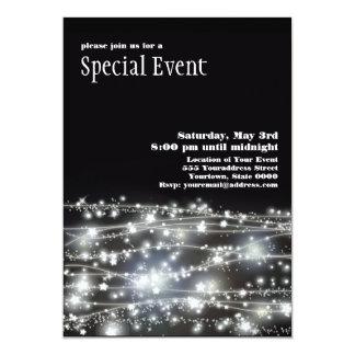 Sparkling Stars Flyer 5x7 Paper Invitation Card