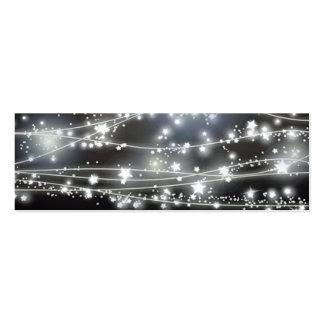 Sparkling Stars Mini Profile Card