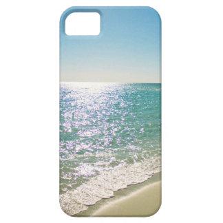 Sparkling tropical beach Phone case