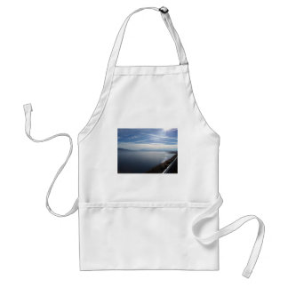 Sparkling Walker Lake Adult Apron