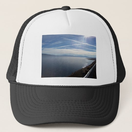 Sparkling Walker Lake Trucker Hat