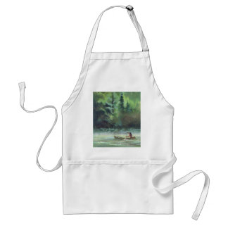 SPARKLING WATERS by SHARON SHARPE Adult Apron