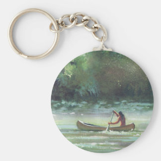 SPARKLING WATERS by SHARON SHARPE Keychain