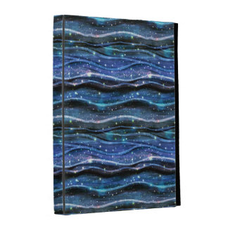 Sparkling Waves iPad Cases