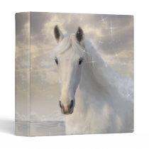 Sparkling White Horse Binder