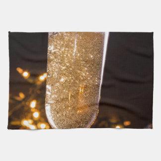 Sparkling Wine Hand Towel