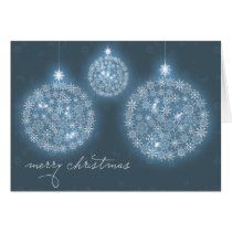xmas, christmas, snow, snowflakes, glow, christmas decorations, decorations, balls, sparkles, light, stars, december, winter, holidays, Card with custom graphic design