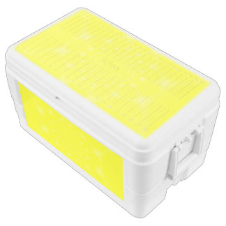 Sparkling Yellow Chest Cooler