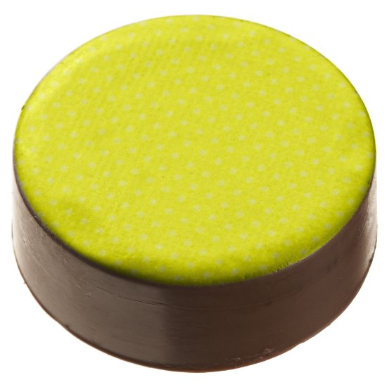 Sparkling Yellow Chocolate Covered Oreo