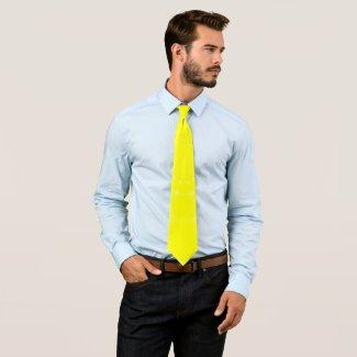 Sparkling Yellow Neck Tie