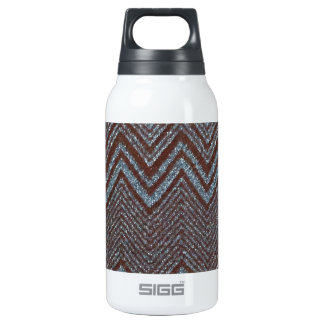 Sparkling zig zag design 10 oz insulated SIGG thermos water bottle