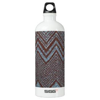 Sparkling zig zag design SIGG traveler 1.0L water bottle
