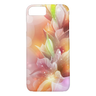 Sparkly Abstract Floral iPhone 7 Case