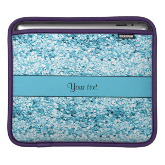Sparkly Blue Glitter Sleeve For iPads