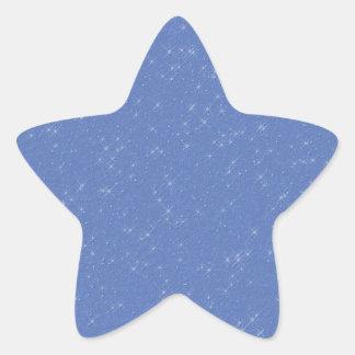 Sparkly Blue Sky Sticker