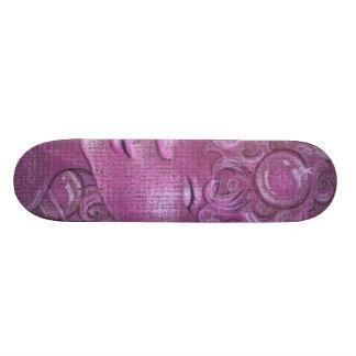 Sparkly Bubbly Sleepy Head Skateboard - Pink