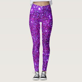 Sparkly Casual Chic Fashion Party Fun Leggings