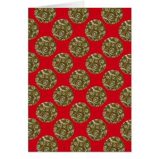 Sparkly Christmas sparkly ornaments Card
