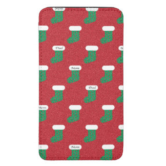 Sparkly Christmas Stockings Galaxy S5 Pouch