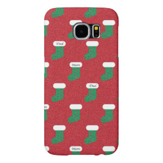 Sparkly Christmas Stockings Samsung Galaxy S6 Cases