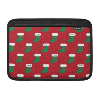 Sparkly Christmas Stockings Sleeve For MacBook Air