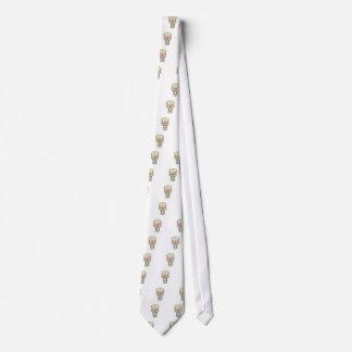 Sparkly-eyed Skull Tie