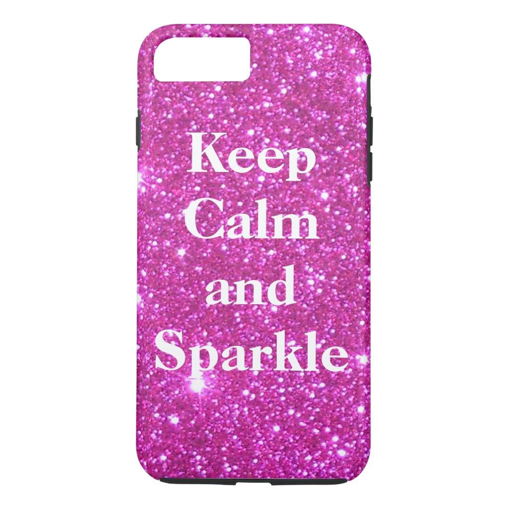 Sparkly Glittery Glitter Pink Glam CricketDiane iPhone 8 Plus/7 Plus Case