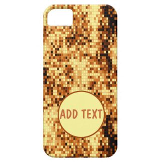 Sparkly gold iPhone 5 cases
