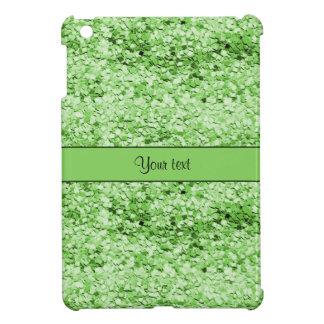 Sparkly Green Glitter iPad Mini Cover
