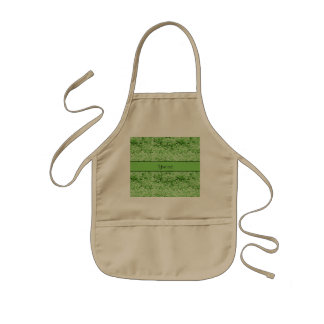 Sparkly Green Glitter Kids' Apron