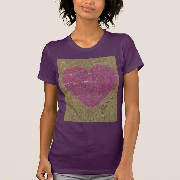 Sparkly Heart By Julia Hanna T-Shirt