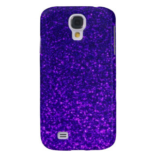 Sparkly iPhone Cases (purple) Samsung Galaxy S4 Cases
